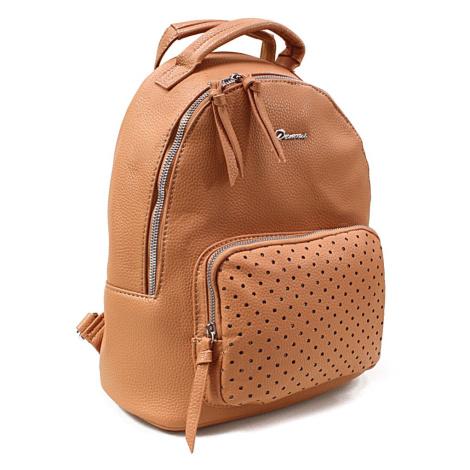 Přírodně hnědý dámský stylový praktický batoh Laurencia Mahel