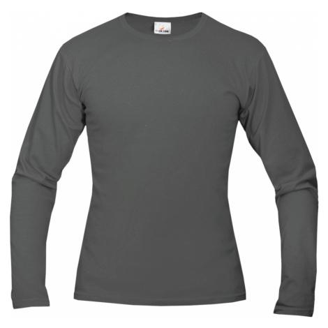 Tričko pánské AF long dlouhé - Kovově šedá