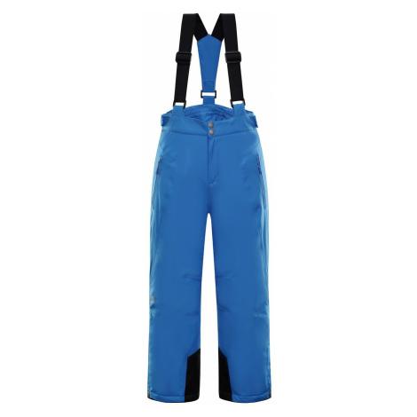 Dětské zimní kalhoty Alpine Pro ANIKO - modrá