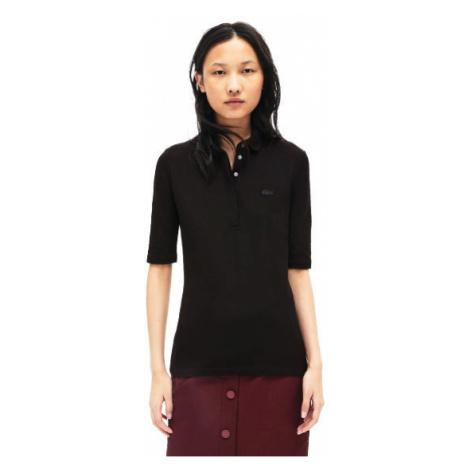 Lacoste S S/S BEST POLO černá - Dámské polo tričko