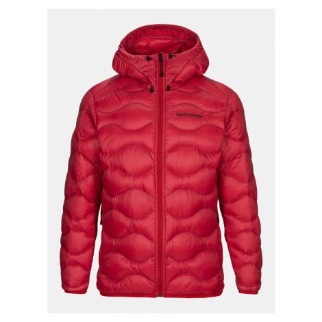 Bunda Peak Performance M Helium Hood Jacket - Červená