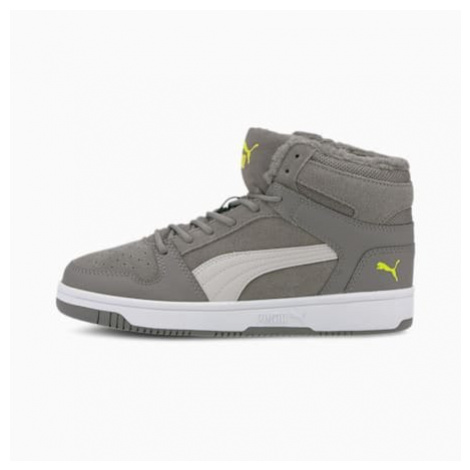 Puma Rebound Lay-Up Fur SD Youth Trainers