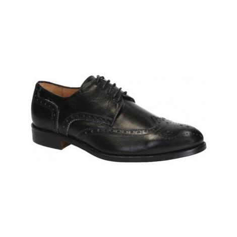 Leonardo Shoes 05792/FORMA 40 NAIROBI NERO Černá