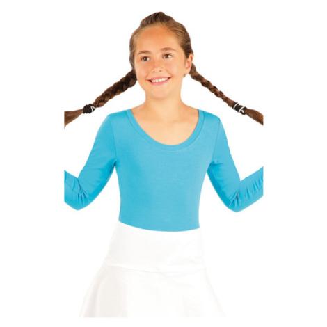 Dětský gymnastický dres Litex 99416 | tyrkysová