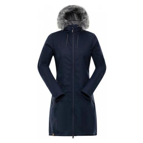 ALPINE PRO Priscilla 4 Ins. Modrá / Tyrkysově Modrá Dámský Softshellový Kabát LCTP100602
