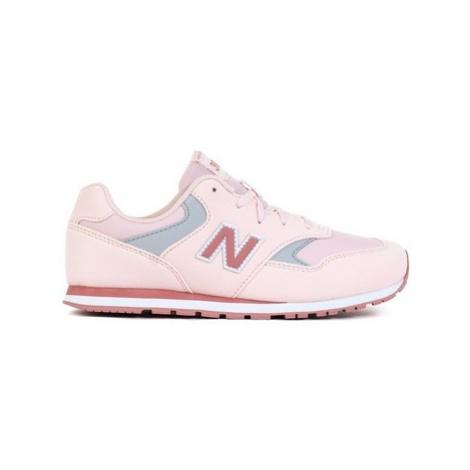 New Balance 393 Růžová