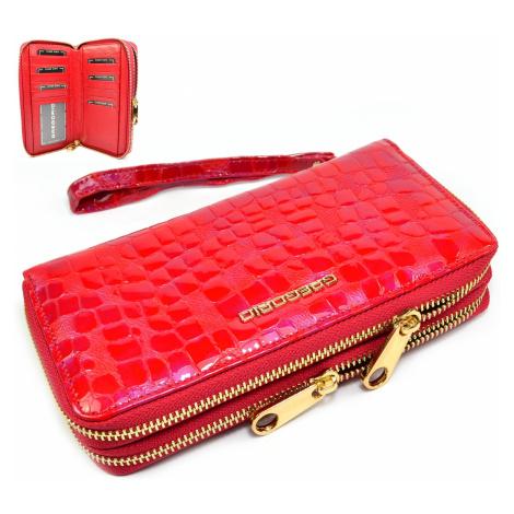 Dámská peněženka červená GREGORIO