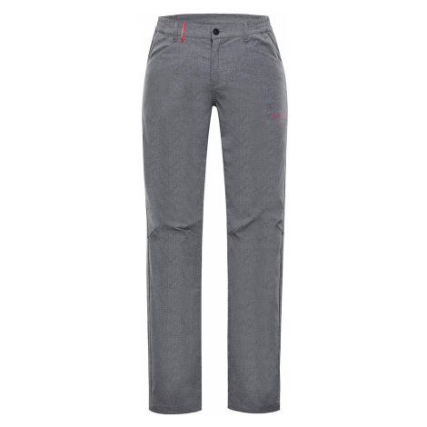 Dámské softshellové kalhoty Alpine Pro TIMERA - světle šedá