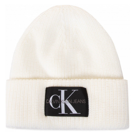 Calvin Klein dámská krémová čepice