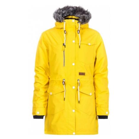 Horsefeathers LUANN JACKET žlutá - Dámská zimní bunda