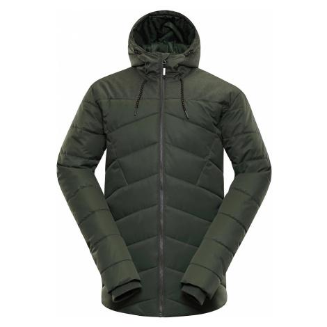Pánská bunda Alpine Pro GABRIELL 3 - tmavě zelená