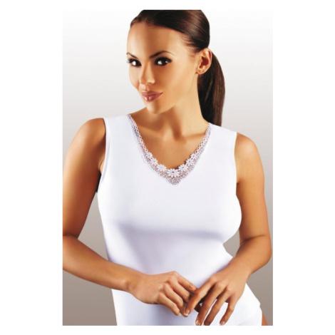Dámská košilka Emili Majka plus white | bílá