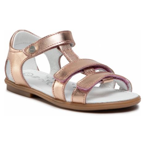 Sandály BARTEK - 76016-NRG Zlatá