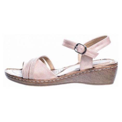 Avenue GLUMSLOV růžová - Dámská letní obuv