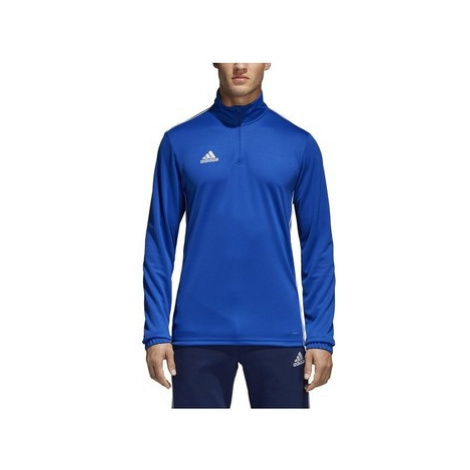 Adidas Core 18 Training Top Modrá