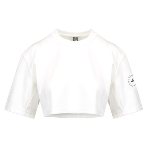 Top Adidas by Stella McCartney ASMC CROP TEE bílá