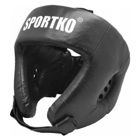 Boxerský Chránič Hlavy Sportko Ok1 Černá