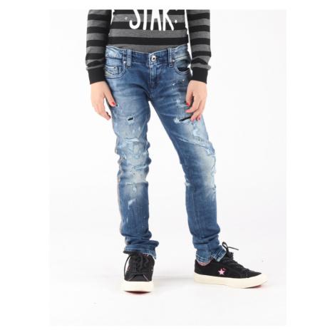 Džíny Diesel Grupeen-J Pantaloni Modrá
