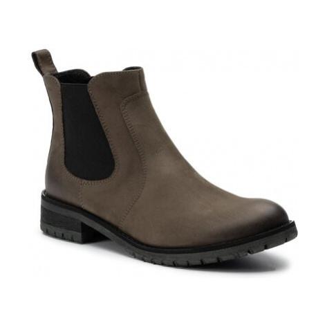 Kotníkové boty Gino Rossi 802A-01 Přírodní kůže (useň) - Nubuk