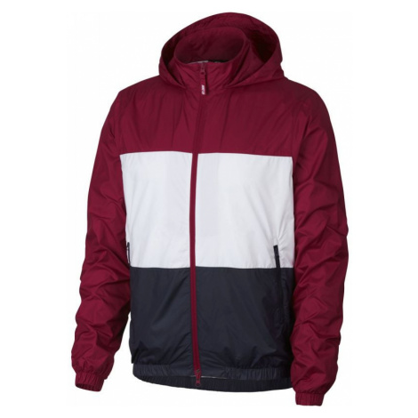 Nike hooded - vínová - 323256