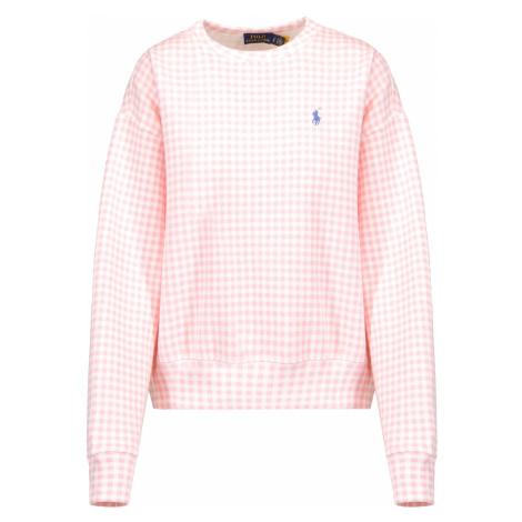 Mikina Polo Ralph Lauren GNG RLXD CN růžová