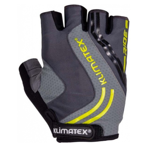 Klimatex RAMI tmavě šedá - Pánské cyklistické rukavice