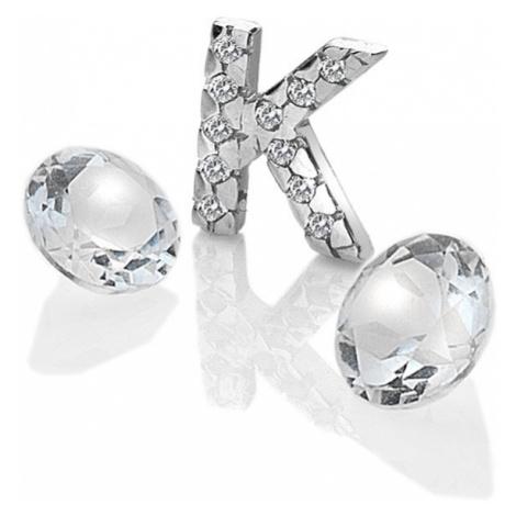 "Hot Diamonds Element písmeno ""K"" s topazy Anais EX230"