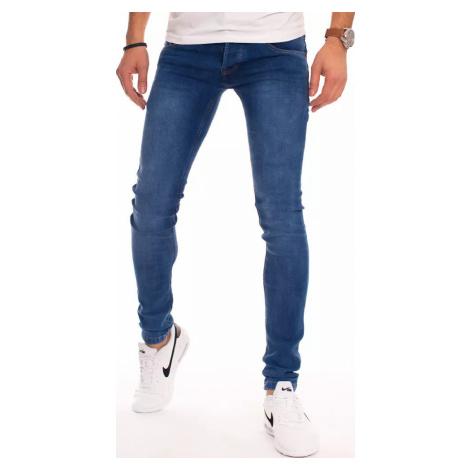Modré úzké džíny UX2913 BASIC