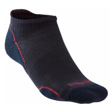 Pánské ponožky Bridgedale Hike UL T2 MP Low navy/red