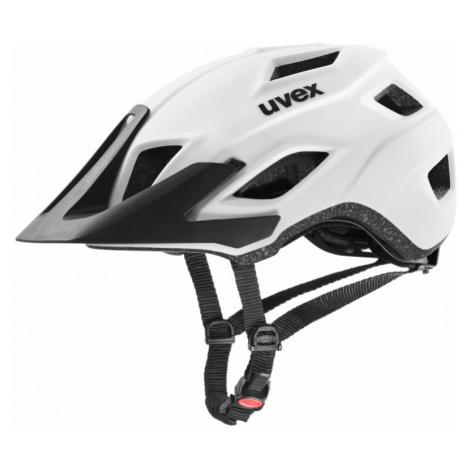 Cyklistická helma Uvex Access white mat