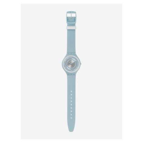 Skinciel Hodinky Swatch Modrá