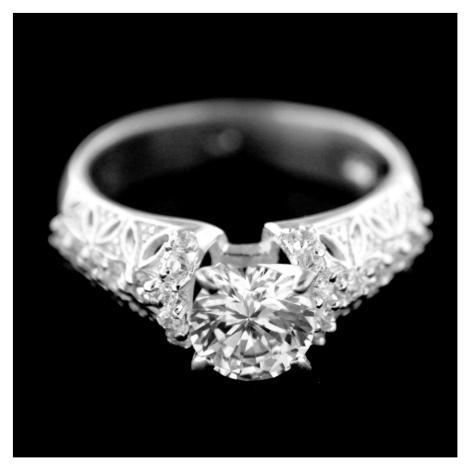Stříbrný prsten 15375