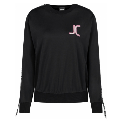 JUST CAVALLI JC Logo Black mikina