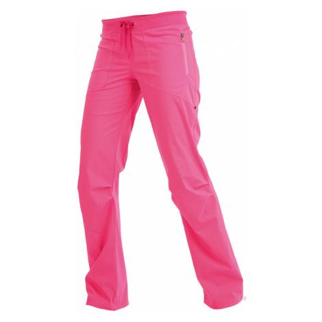 LITEX Kalhoty dámské dlouhé bokové. 99570311 reflexně růžová