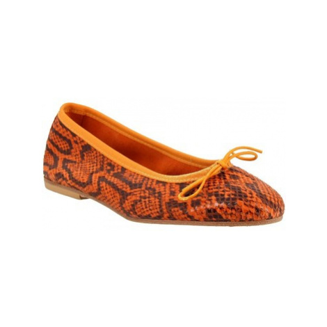 Leonardo Shoes 6087 PITEN ARANCIO Oranžová