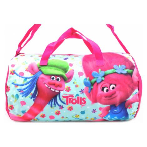 Dětská cestovní Taška Trolls - růžová