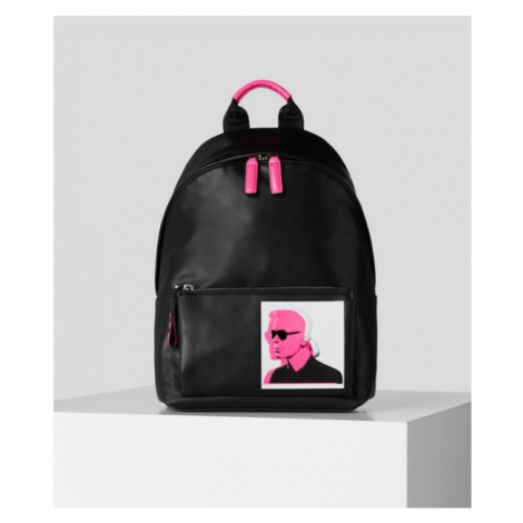 Taška Karl Lagerfeld Karl Legend Leather Backpack