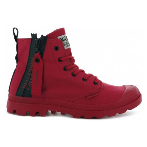Palladium Boots Pampa Unzipped Red Salsa červené 76443-614-M