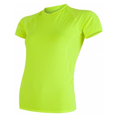 SENSOR COOLMAX FRESH dámské triko kr.rukáv reflex žlutá