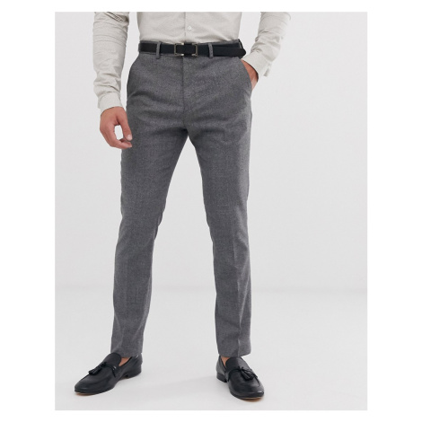 River Island suit trousers in grey