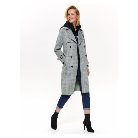 Dámský kabát Top Secret Checked