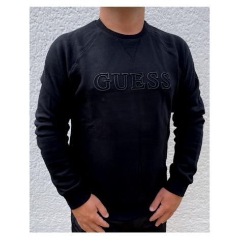 Pánská mikina GUESS U1YA02 černá   černá
