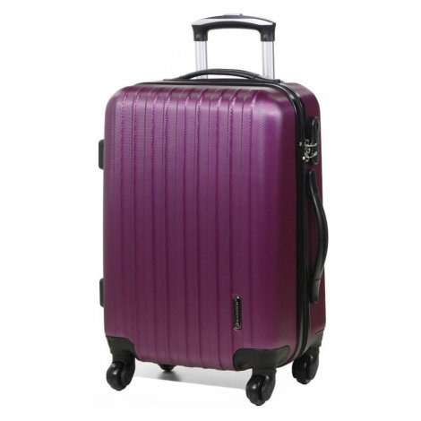 Cestovní kufr MADISSON 4W S 40002-50-04 39 L fialová