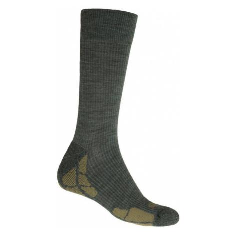 HIKING MERINO Funkční ponožky 20200068 safari/khaki Sensor
