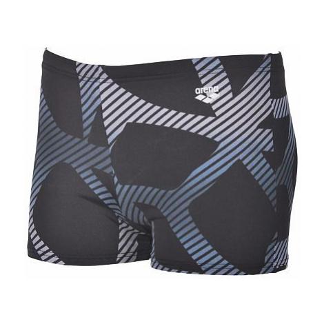 Arena M SPIDER SHORT pánské plavky Barva: black - white
