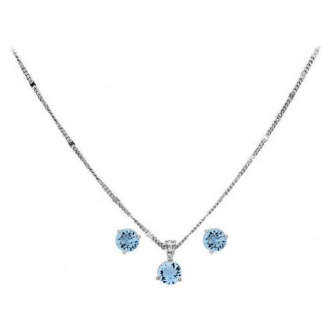 Swarovski Sada třpytivých šperků Lena (náušnice, náhrdelník)