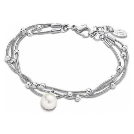Lotus Style Dámský ocelový náramek s perličkou LS1851-2/1
