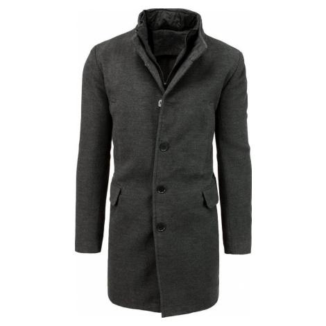 Pánský tmavě šedý kabát (CX0413) BASIC