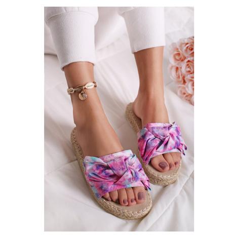 Vícebarevné pantofle Lavania Bestelle