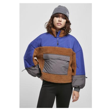 Ladies Sherpa 3-Tone Pull Over Jacket Urban Classics